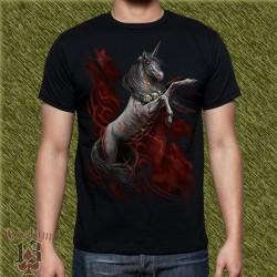 Camiseta dark13, unicornio 02