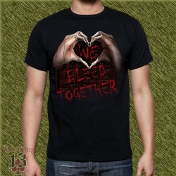Camiseta dark13, sangramos juntos