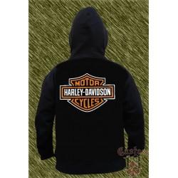 Sudadera con capucha, harley davidson, logo
