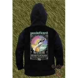 Sudadera con capucha, pink floyd, wish you were here