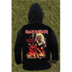 Sudadera con capucha, iron maiden, the number of the beast 01