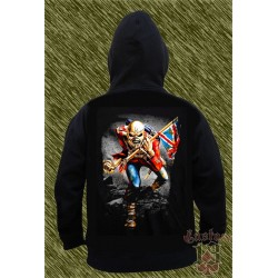 Sudadera con capucha, eddie the trooper