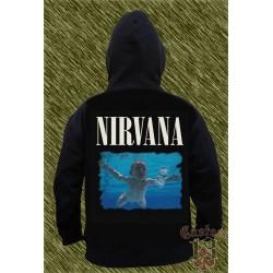 Sudadera con capucha, nirvana, never mind