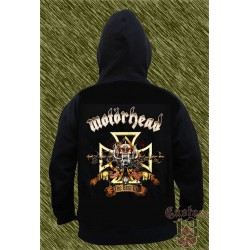 Sudadera con capucha, motorhead, the best of
