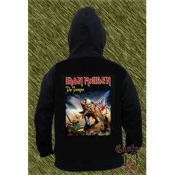 Sudadera con capucha, iron maiden, the trooper