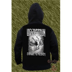 Sudadera con capucha, led zeppelin, starway to heaven