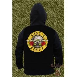 Sudadera con capucha,guns n roses, logo