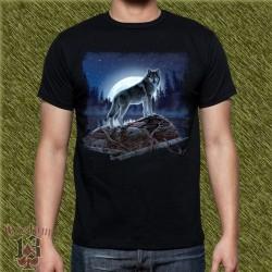 Camiseta dark13, luna del lobo