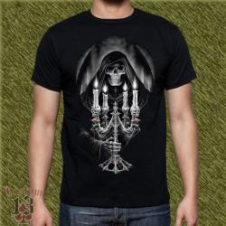 Camiseta dark13, candelabro