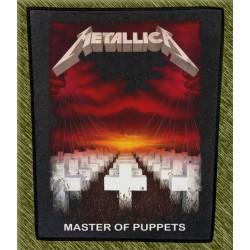 Espaldera Metallica, master of puppets