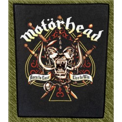 Espaldera Motorhead, born to lose live to win