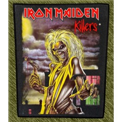 Espaldera Iron Maiden, killers