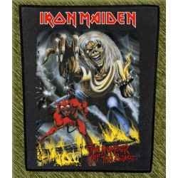 Espaldera Iron Maiden, the number of the beast