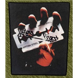 Espaldera Judas Priest, british steel