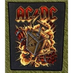 Espaldera AC DC, tnt