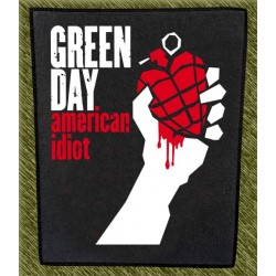 Espaldera Green Day, american idiot