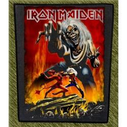 Espaldera Iron Maiden, 666
