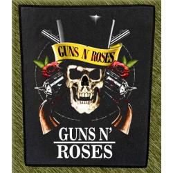 Espaldera Guns n Roses, calavera
