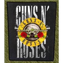 Espaldera guns n roses, logo