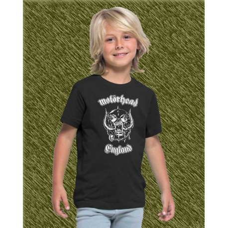 Camiseta de niño, motorhead, england