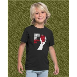 Camiseta de niño, green day