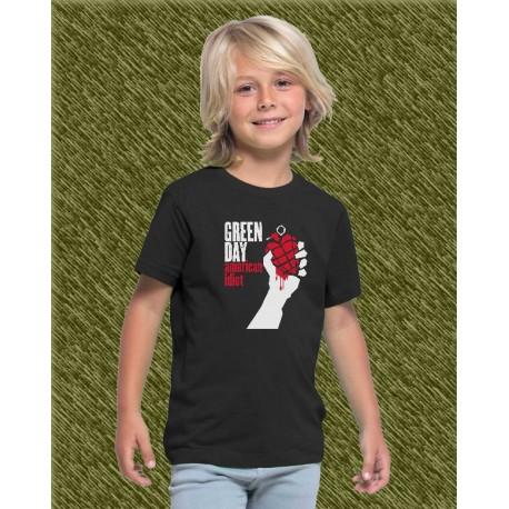 Camiseta de niño, green day