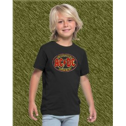 Camiseta de niño,ac dc, high voltage rock n roll