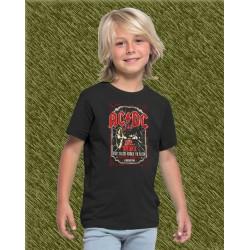 Camiseta de niño, ac dc 1981