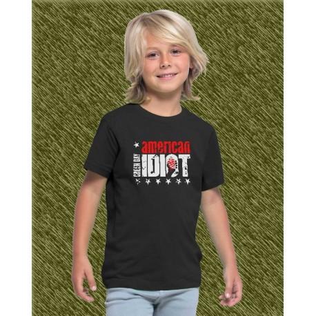 Camiseta de niño, green day, american idiot