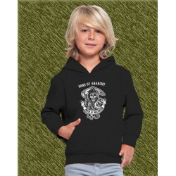 sudadera niño con capucha, sons of anarchy