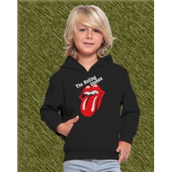 sudadera niño con capucha, rolling stones