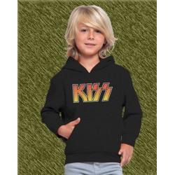 sudadera niño con capucha, KISS