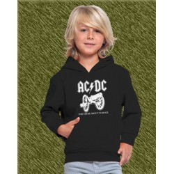 sudadera niño con capucha, AC-DC, for those about to rock