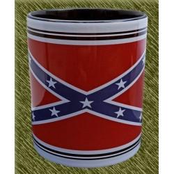 Taza de porcelana, bandera rebel
